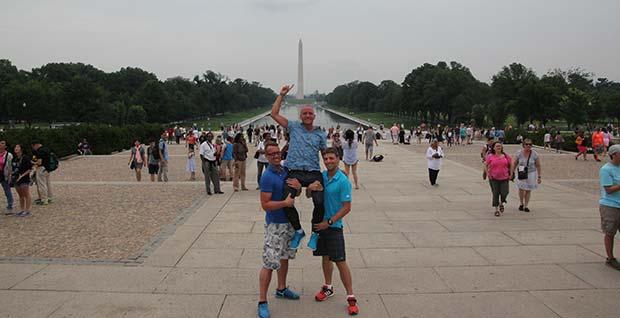 National Mall, utanför lincoln Memorial