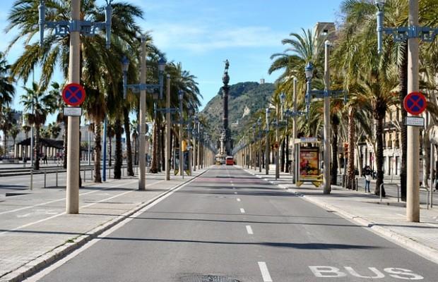 Hyrbil i Barcelona
